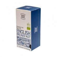 Ceai Demmers Quick-T Organic English Breakfast, 25 plicuri, 43 grame