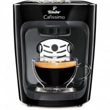 Espressor Tchibo Cafissimo mini Midnight Black, capsule + 30 Capsule GRATUIT, 4 bauturi, ceai, espresso, filtru, cafea crema,15 bar, 1500 W