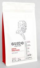 GUIDO Cafea Proaspăt Prăjită BRAZILIA IRMAS PEREIRA, 250g, Note de Cacao și Arahide, Corp Abundent și Plin, Espresso, Moka pot si Ibric