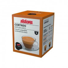Ristora Capsule Cafea CORTADO(Machiato), tip Dolce Gusto, set-10 buc