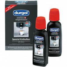 Solutie decalcifiere Durgol Swiss Espresso, 2 bucati X 125 ml
