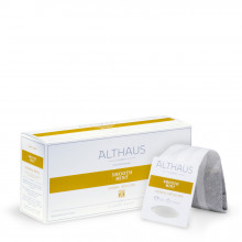 Althaus Grand Pack Smooth Mint: Ceai de Menta, T-Bag, 15 plicuri in cutie, 4g in plic
