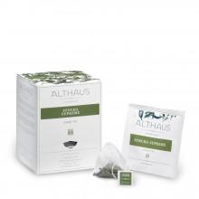 Althaus Pyra Pack Sencha Supreme: Ceai Verde, 15 plicuri in cutie,2,75g ceai in plic din matase