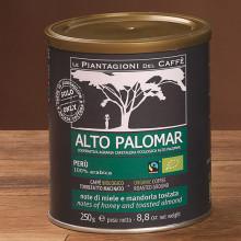 ALTO PALOMAR Cafea Măcinată, Fair Trade & Organic, 100% Arabica, origine Perù, pungă 250g