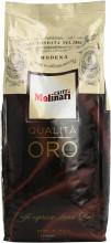 Cafea Boabe Molinari Qualita Oro Espresso, Punga 1kg, Amestec, Arabica 70%, Robusta 30%, Ciocolata, Biscuiti, Cacao