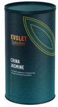 Ceai EVOLET Selection infuzie TUB - China Jasmine, 250g Ceai In Tub De Carton,