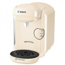 Espressor Bosch Tassimo Vivy II, 1300w, 3.3 bar, 0.7l , autocuratare si decalcifiere, capsule, Crem