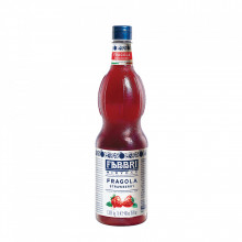 Fabbri MIXYBAR CAPSUNE - Cocktailuri, Granite, Smoothie-uri, Milkshake, Sorbete, Sticla din plastic, 1 litru