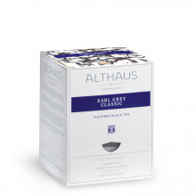 Althaus Pyra Pack Royal Earl Grey: Ceai Negru cu aroma de bergamota, 15 plicuri in cutie,2,75g ceai in plic din matase