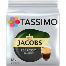 Capsule cafea Tassimo Espresso, 16 capsule, 118 grame
