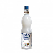 Fabbri MIXYBAR COCOS - Cocktailuri, Granite, Smoothie-uri, Milkshake, Sorbete, Sticla din plastic, 1 litru