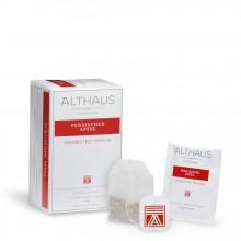 Althaus Deli Pack Persian Apple: Ceai de Mere Verzi cu Lamaie, 20 plicuri în cutie, 1,75g ceai în plic de hartie