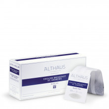 Althaus Grand Pack English Breakfast: Ceai Negru, T-Bag, 20 plicuri in cutie, 4g in plic