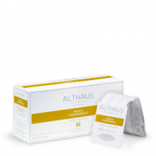 Althaus Grand Pack Fancy Chamomile: Ceai de Musetel, T-Bag, 15 plicuri in cutie, 4g in plic