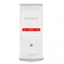 Althaus Loose Tea Strawberry Flip: infuzie de fructe, ceai vrac, punga 250g