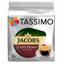 Capsule cafea Tassimo Caffe Crema Classico, 16 capsule, 112 grame