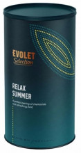 Ceai EVOLET Selection infuzie TUB - Relax Summer, 150g ceai in tub din carton, peentru relaxare