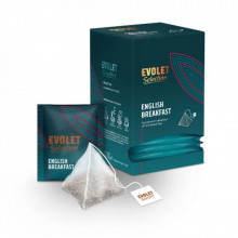 CEAI EVOLET Selection Pyramid English Breakfast, 25 plicuri, Plic Piramida, Greutate Plic 2.25g