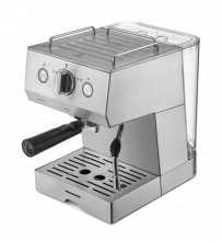 Espressor Heinner Buquette, espresso si spuma lapte 20 bar, filtru dublu inox, 1,5 litri in rezervor, 1140W, home