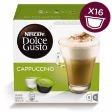 NESCAFÉ DOLCE GUSTO Cappuccino, 16 Capsule, 186.4gr