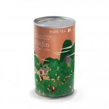 Pure Tea Bio Loose Jinjin Mango Lu Dao - ceai verde chinezesc in amestec cu ulei de mango, la cutie, 150gr