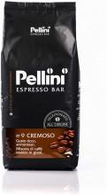 Cafea Boabe Pellini Espresso Bar Cremoso, Punga 1kg, Cafea Amestec, Arabica si Robusta, Corp plin, Gust Rotund