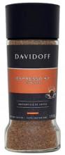 Cafea Instant Davidoff Fine Espresso 57 Intense, 100 g, 100% Arabica, aciditate medie, corp mediu