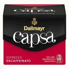 Capsule cafea Dallmayr Capsa Espresso Decaffeinato, 10 capsule, 56 grame, compatibile Nespresso