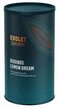 Ceai EVOLET Selection infuzie TUB- Rooibos Lemon Dream, 250 grame de ceai in tub de carton, pentru zile frumooase