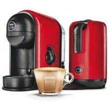 Espressor Lavazza a Modo Mio Minu Caffe & Latte Rosu, capsule, 1250 W, 10 bar, Rosu, uz casnic, 4 bauturi, espresso, caffe latte, capuccino