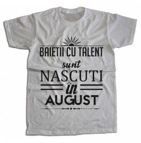 Baietii cu talent sunt nascuti in august