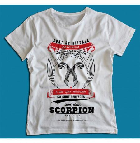 Sunt doar Scorpion [Tricou] *LICHIDARE STOC*