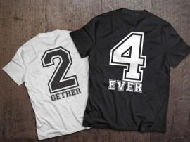 Set tricouri 2gether 4ever
