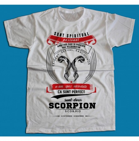 Sunt doar Scorpion...
