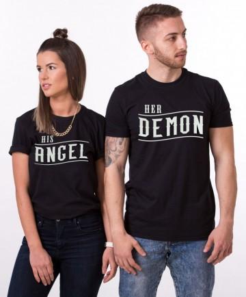 """Set cuplu """"ANGEL & DEMON"""""""