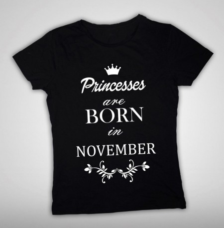 Princesses are born in...