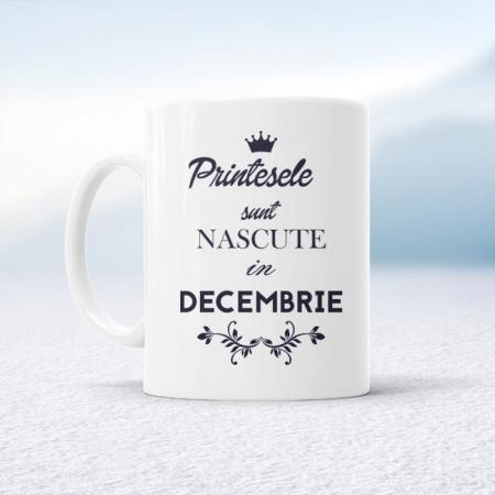 Printesele sunt nascute in decembrie