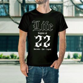 Life begins at 22 - B