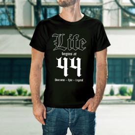 Life begins at 44 - B