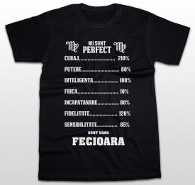 Zodie Procente Fecioara [Tricou] *LICHIDARE STOC*