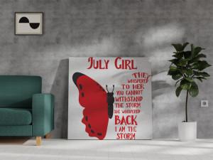 Canvas July Girl [Leu/Rac]