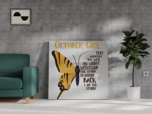 Canvas Octomber Girl [Scorpion/Balanță]