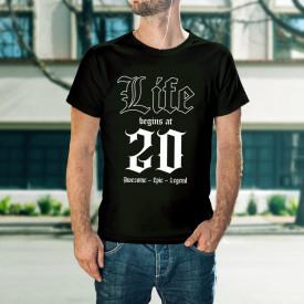 Life begins at 20 - B