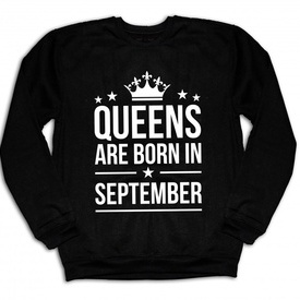 QUEENS ARE BORN IN [BLUZA]