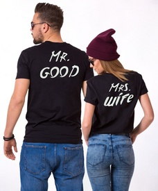 "Set cuplu ""Mr.Good & Mrs. Wife"""