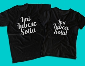 """Set tricouri """"Sot si Sotie"""""""