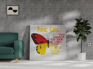 Canvas June Girl [Gemeni/Rac]