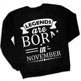 LEGENDS ARE BORN IN [BLUZA]