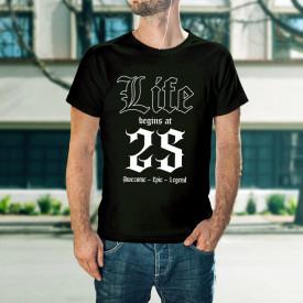Life begins at 25 - B