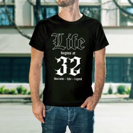 Life begins at 32 - B